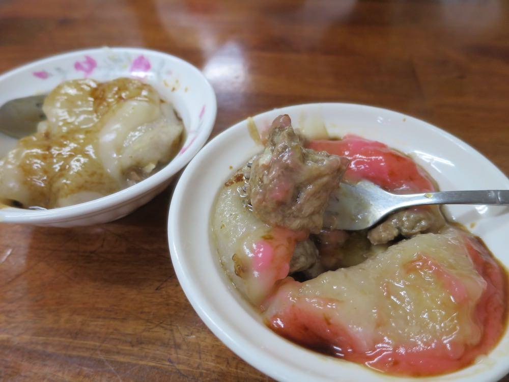 台中第二市場 王記菜頭粿糯米腸 顏記 丁山 茂川 莊陶記