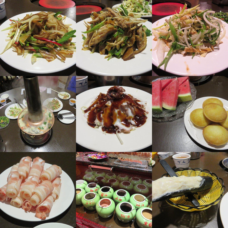 台北 四平小館 Sihping 酸菜白肉鍋 甜在心 加映花蓮理想店舖 南瓜栗子蛋糕
