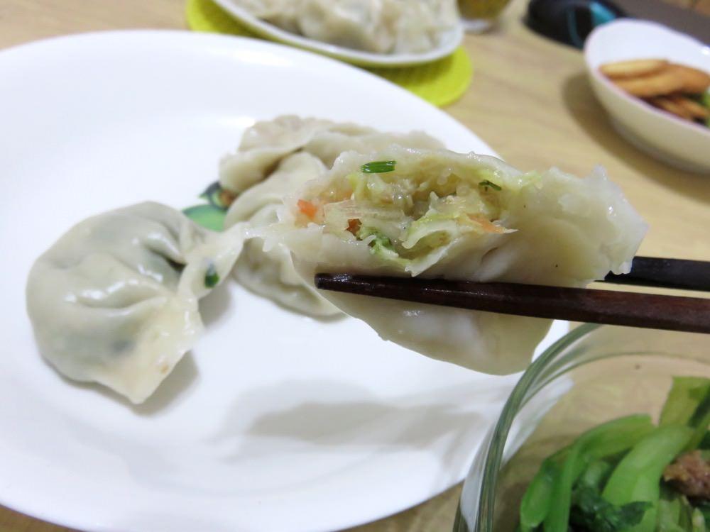 黃家素食水餃
