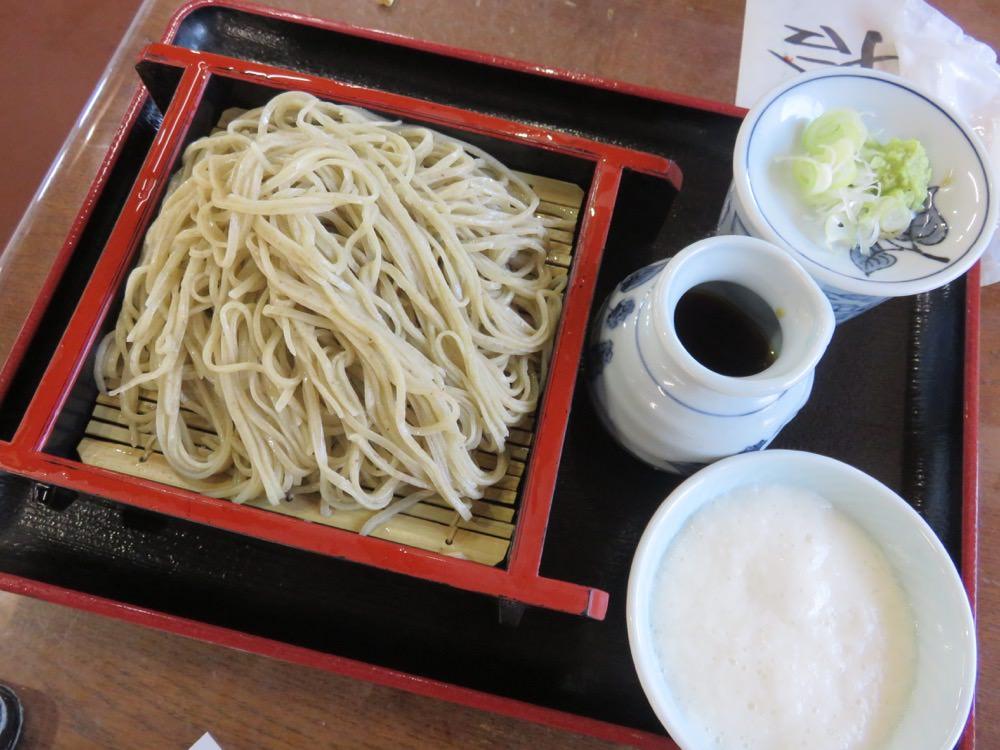 《日本》富士五湖 忍野八海 池本茶屋 Ikemotochiyaya 蕎麥麵好威
