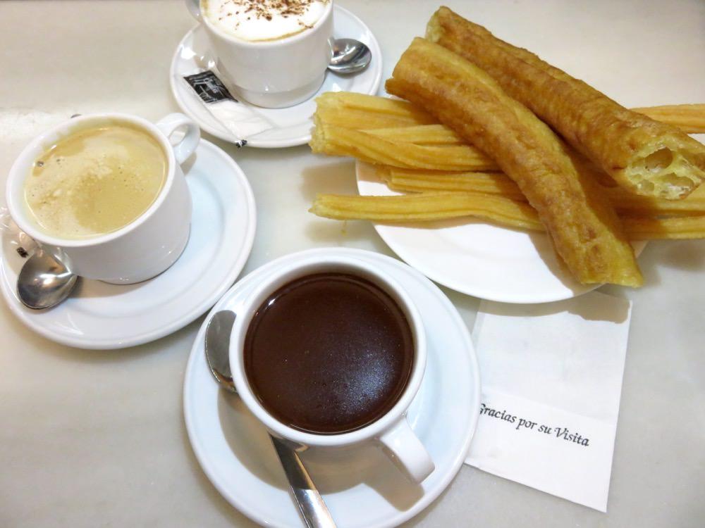 《西班牙馬德里》Chocolatería San Ginés 西班牙炸油條 正點