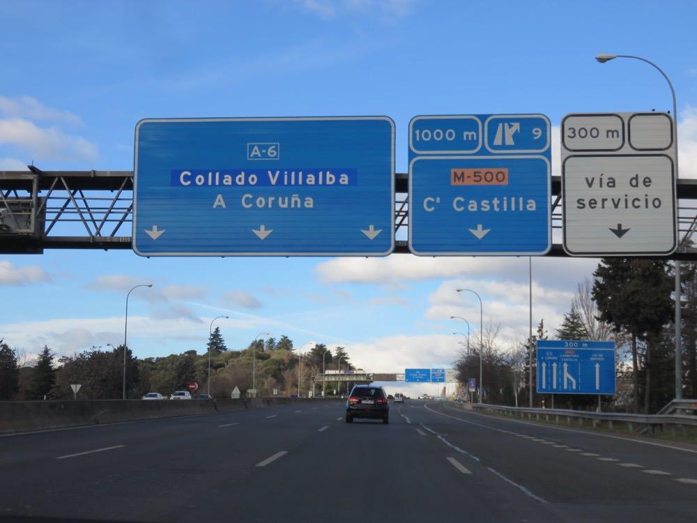 馬德里開到塞哥維亞走高速公路好貴啊