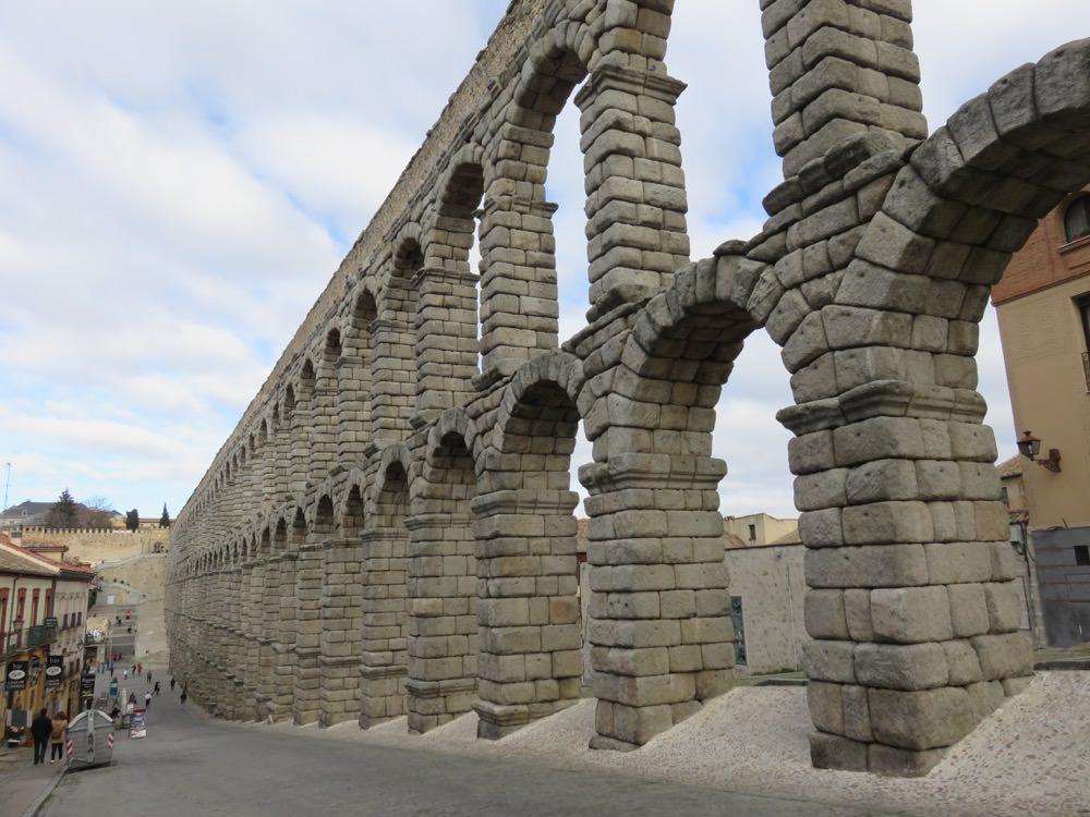 《西班牙Segovia》半日遊經典景點塞哥維亞水道橋