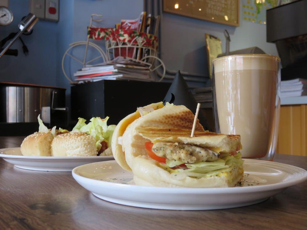 《台北》PK Caffè 咖啡 隱藏於社區中的避風港 只屬於知音的你