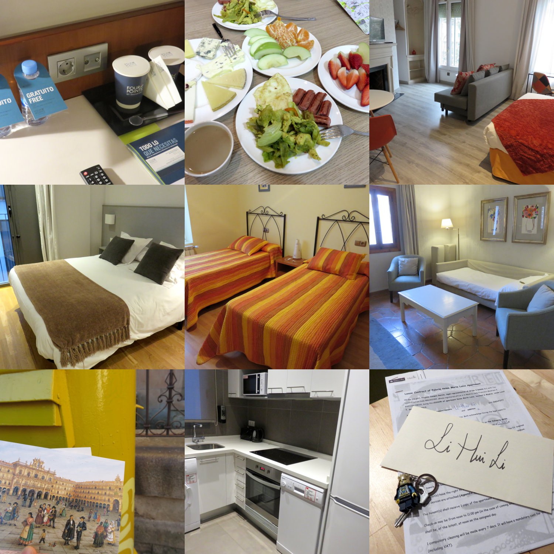 西班牙找旅館公寓飯店老蝦住過的給你參考