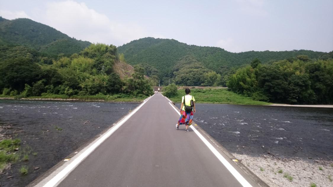 日本四國 四万十 沈下橋 Shikoku