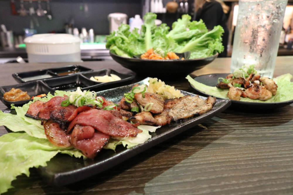 《Tobimasu燒肉居酒霸》炭火燒肉的優雅午後