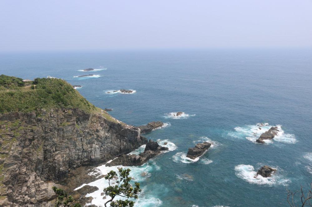 《四國最南端》足摺岬燈塔眺望太平洋的寧靜致遠