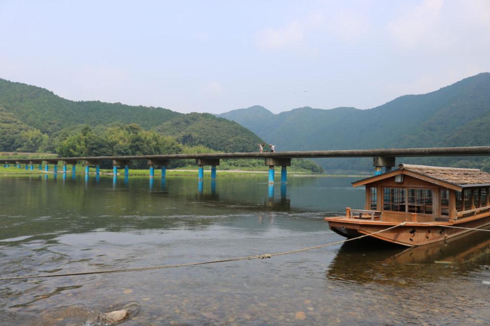 《日本最後清流》四萬十川佐田沈下橋 岩間沈下橋