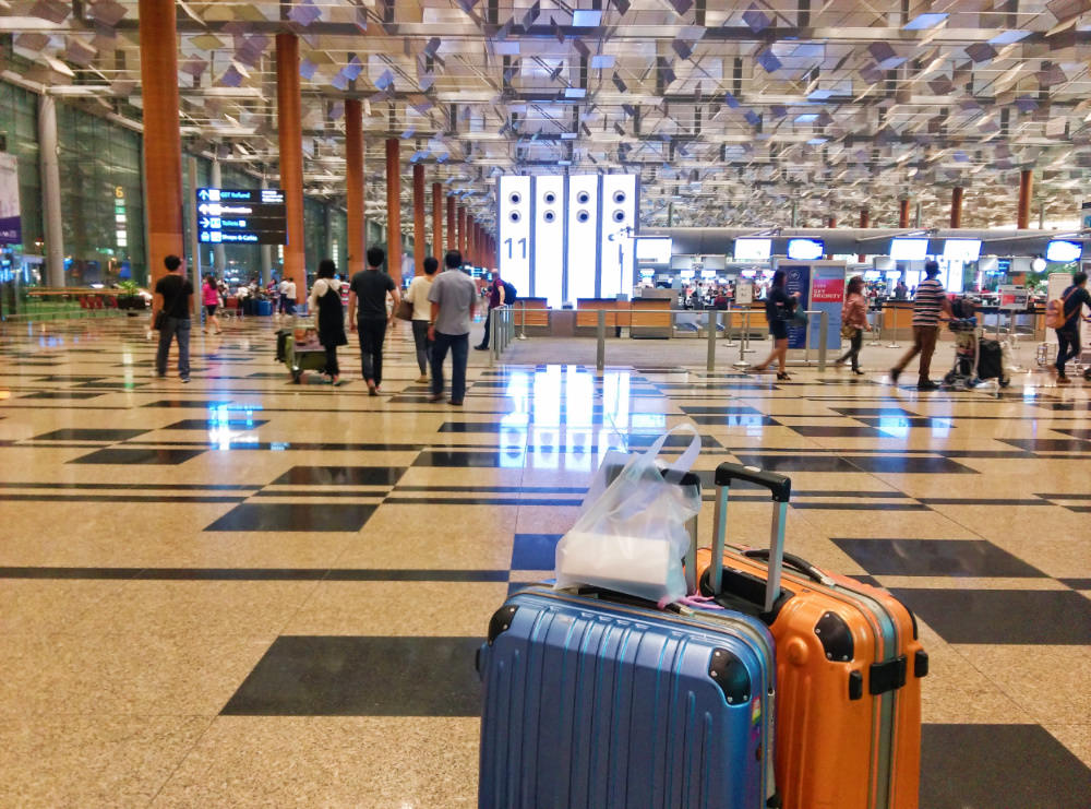 《新加坡》樟宜機場過境貴賓室休息洗澡 搭新航真好