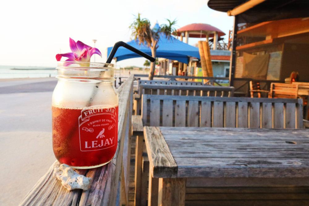 《沖繩夕陽》咖啡館看日落Resort Cafe KAI