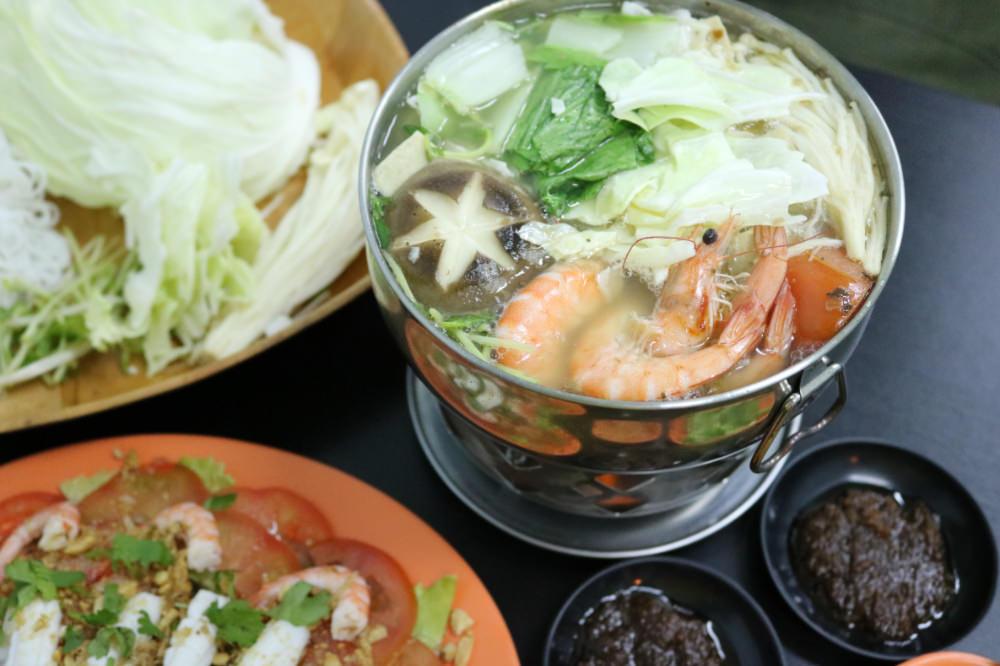 《台中》幸福食堂越式風味平價料理 夏天開胃吃涼拌 冬天吃越式小火鍋