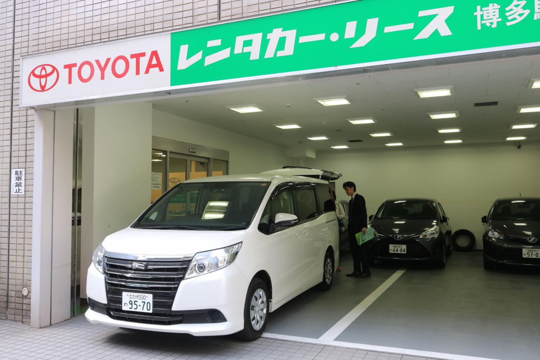 日本租車自駕TOYOTA RENT A CAR官網多家店鋪評價