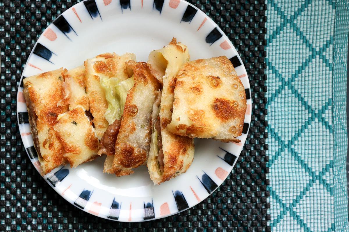 《台北》內湖人氣蛋餅不只有阿枝 日久阿囉哈早餐好好吃