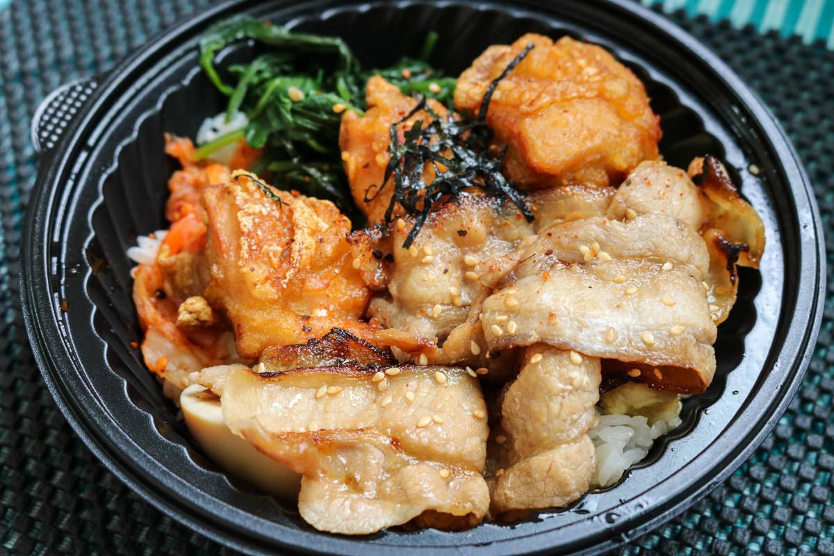 《台北》內湖燒肉便當 極餓日式燒丼專賣