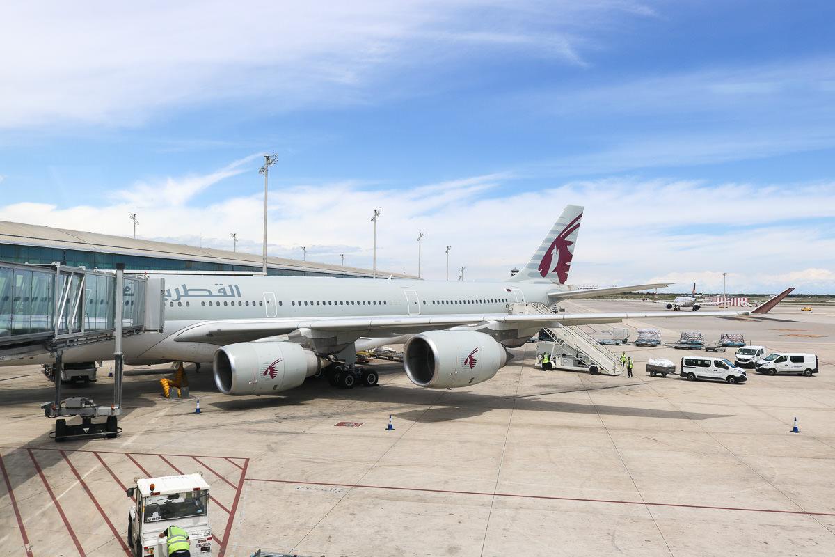 《西班牙》卡達航空飛歐洲 香港轉杜哈搭乘評價心得