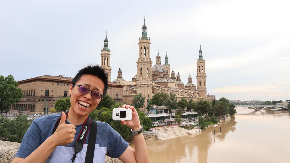 歐洲網路分享器Travel Wifi旅行上網多人共用吃飽用滿 西班牙篇