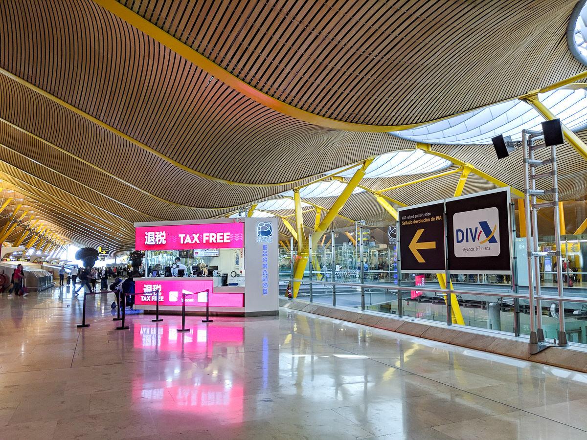 西班牙馬德里機場退稅tax diva退稅refund11