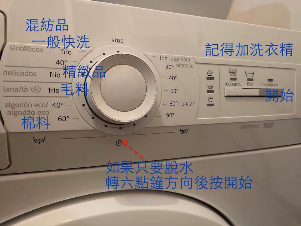 西班牙洗衣機