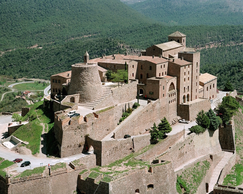 cardona卡爾多納城堡中世紀