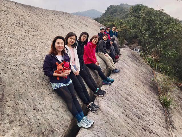 龍船岩內湖最刺激登山步道老蝦練走團