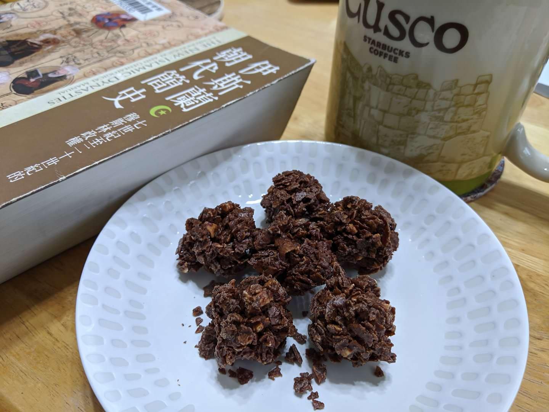 楊媽媽菓子巧克力杏仁脆酥