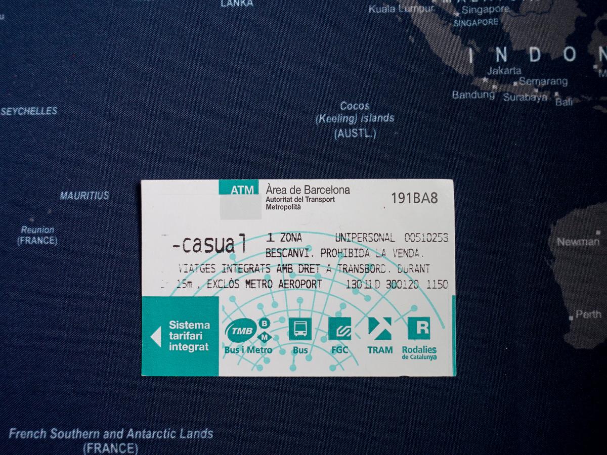 西班牙巴塞隆納t10 tcasual卡片-1