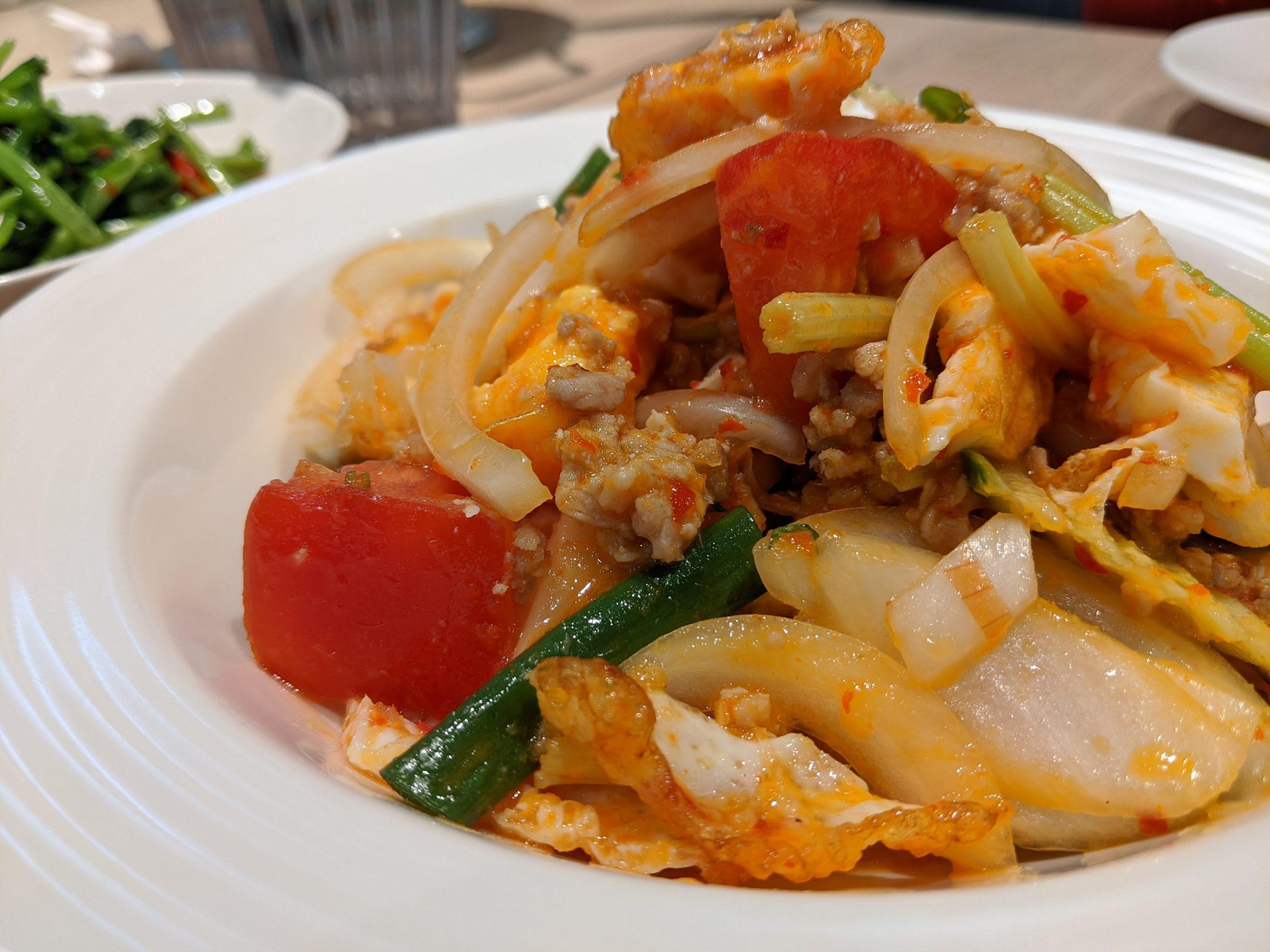 內湖泰式料理P ming Thai泰式廚坊甜點網美