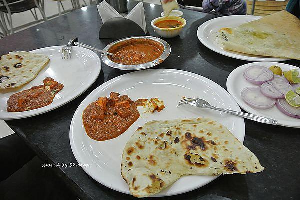 西印Day11 奧蘭卡巴 Hotel New Bharti Pure VEG Restaurant