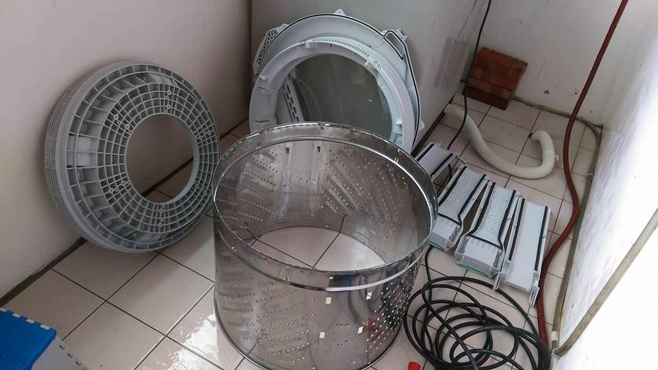 台北桃園基隆 賴師傅洗衣機清潔專家 清洗衣機冷氣機