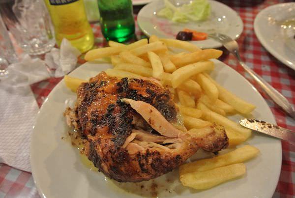 《南美》祕魯。庫斯科。LOS TOLDOS Chicken。當地頗有名氣的烤雞