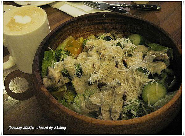 台北 覺旅咖啡 Journey Kaffe-驚豔木碗沙拉