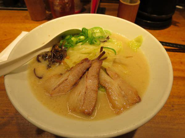 《日本》京都。錦小路 一風堂 IPPUDO。這湯頭….(疑惑貌