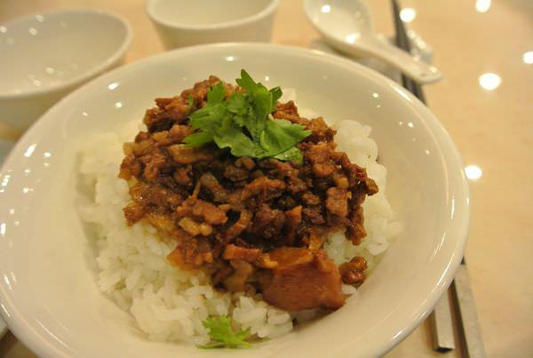 台北中山。極鮮饌海鮮料理。龍膽石斑滷肉飯~好潮XD