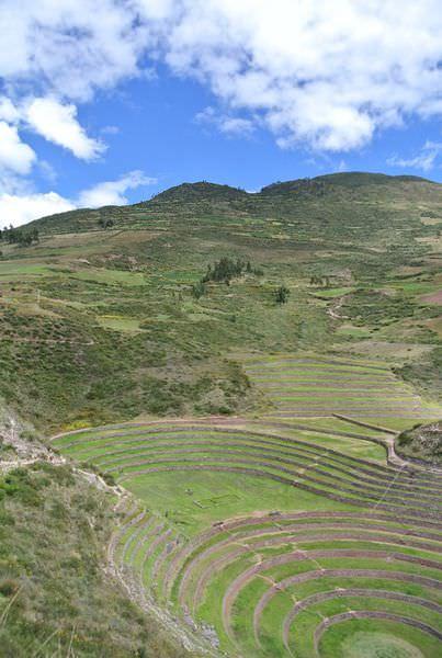 《南美》祕魯。庫斯科。半日遊。Moray。馬里梯田。印加人的智慧~Pachamama