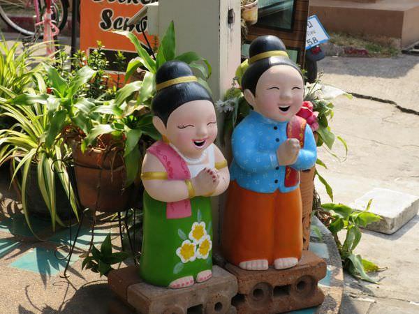 泰國清邁。四天三夜。旅遊手札 插花閒晃7-11 更新201509落地簽