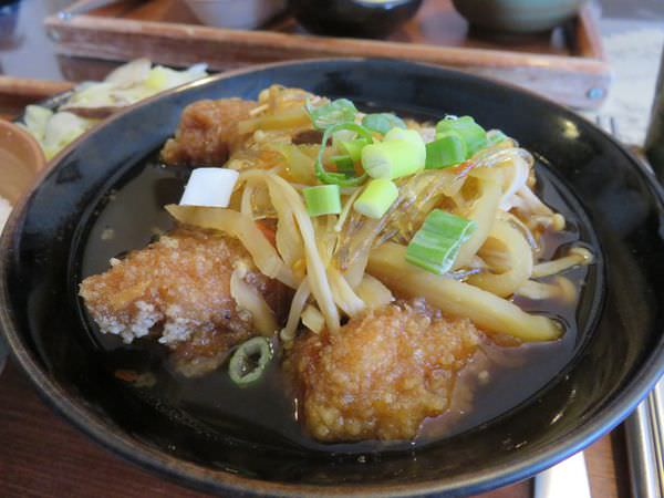 中壢。田園美食屋。中央人的家常滋味 試試油豆腐雞吧