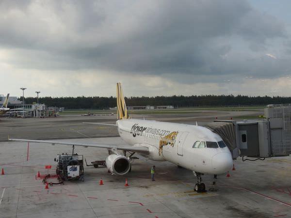 《新加坡》欣豐虎航。虎航。Tiger Airways。讚
