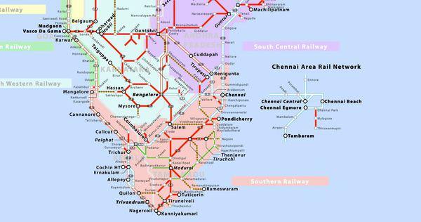 鐵路支線圖
