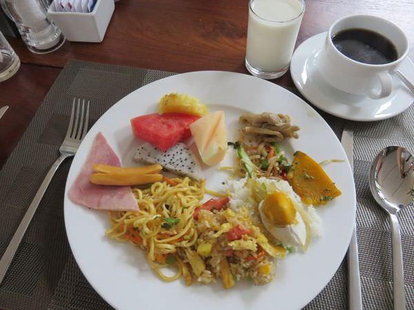 吳與倫比。柬埔寨。Somadevi Residence 薩瑪德維住宅酒店 早餐篇