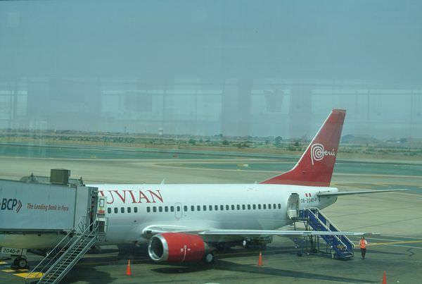 南美祕魯 利馬飛阿蕾基帕 Peruvian airlines 飛機餐有誠意XD